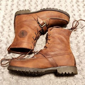 Men's Polo Ranger boots paid $195 size 14